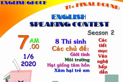 Chung kết cuộc thi Hùng biện tiếng Anh mùa thứ 2 – năm 2020