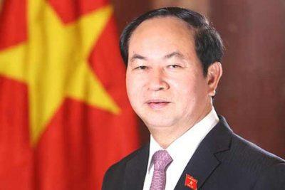 Thư của chủ tịch nước Trần Đại Quang chúc mừng nhân dịp khai giảng 2017