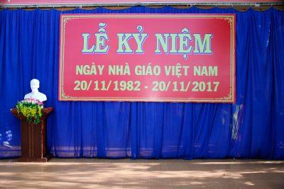 Lễ kỷ niệm 35 năm ngày Nhà giáo Việt Nam 20-11-2017