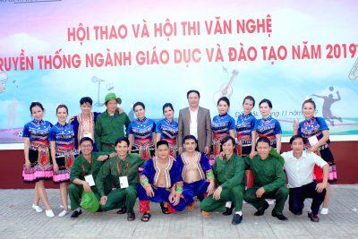 Phần dự thi Hội diễn văn nghệ truyền thống ngành giáo dục tỉnh Đăk Lăk năm 2019