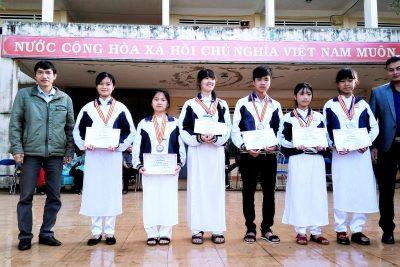 Kết quả kỳ thi HSG cấp tỉnh và Olympic năm 2018