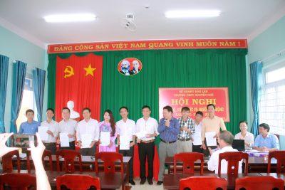 Hội nghị công chức, viên chức, người lao động năm học 2020 – 2021