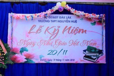 Lễ mittinh kỉ niệm 36 năm ngày nhà giáo Việt Nam 20-11-2018