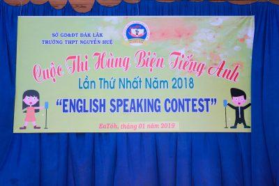 """Chung kết cuộc thi """"Hùng biện tiếng Anh"""" năm 2018 – 2019"""