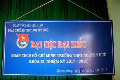 Đại hội Hội LHTN và Đại hội Đoàn trường khóa XI, nhiệm kỳ 2017 – 2018
